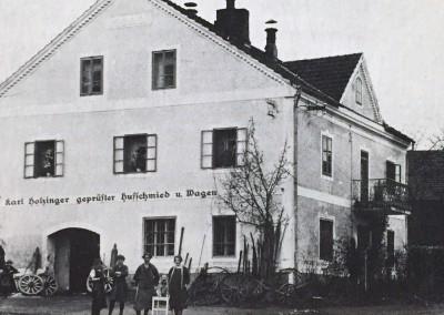 Holzinger Schmiede um 1925